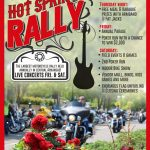 Hot Springs Rally Poster