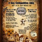 Competitive Trail Riding Event Poster