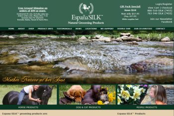 Espana Silk Natural Grooming Products